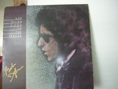 Bob Dylan Signed Blood On The Tracks 1974
