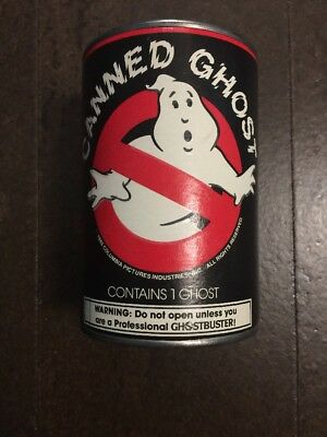 CANNED GHOST - Ghostbusters 1985 Vintage Unopened Canned Ghost - RARE!!