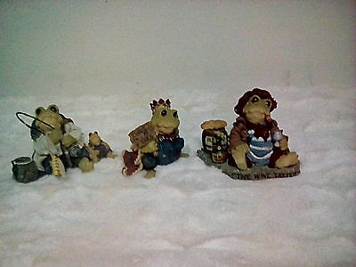 Boyds Bears Retired  (set of 3) all first edition pcs. SALE!!