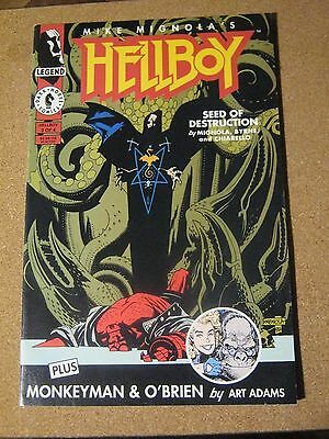 Hellboy:  Seed of Destruction #  3 - May 1994 Mike Mignola - Dark Horse