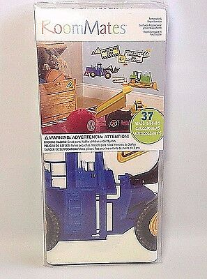 Dreamworks Madagascar, 22 Safari Peel and Stick Wall Decals, Re-Usable, Washable
