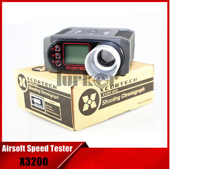 X3200 Airsoft BB Speed Tester Shooting Xcortech Chronograph For Hunting Shooting