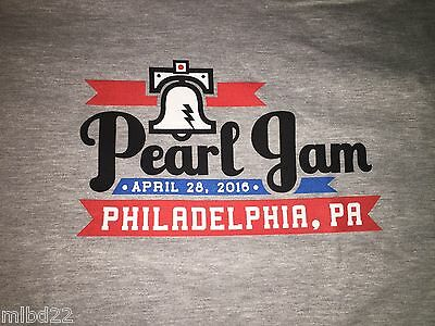 PEARL JAM - Philly N1 T-SHIRT Size XXL - April 28 2016 WOW philadelphia pa 2xl