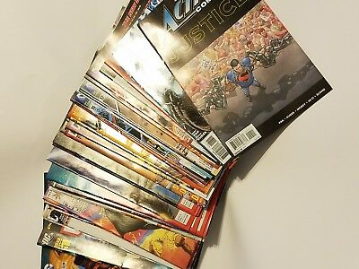 Mixed LOT OF 50 ALL Marvel DC + 50 Comic Book Lot all comics 1980 to 2017 High G