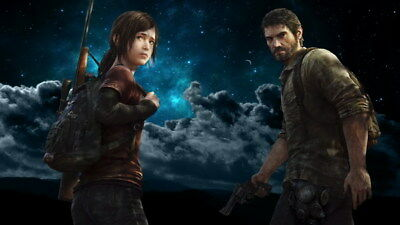 """083 The Last of Us - Zombie Survival Horror Action TV Game 24""""x14"""" Poster"""