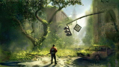 """079 The Last of Us - Zombie Survival Horror Action TV Game 24""""x14"""" Poster"""