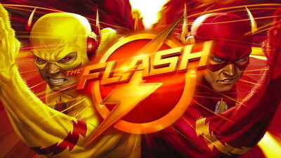 "063 The Flash - Justice League USA Hero Season 1 TV 24""x14"" Poster"