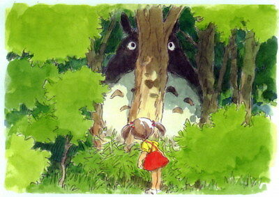 "051 My Neighbor Totoro - Hayao Miyazaki Cute Japan Anime Movie 19""x14"" Poster"