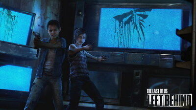 """052 The Last of Us - Zombie Survival Horror Action TV Game 24""""x14"""" Poster"""