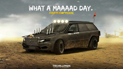 """103 Mad Max 4 Fury Road - Fight Shoot Car USA Movie 24""""x14"""" Poster"""