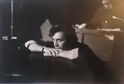 "Bill Graham 1975 B/W Photograph by Ken Regan Studio Stamp 9 3/8"" x14"""