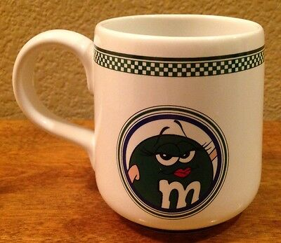 M&M's Brand Coffee Mug, Green M&M