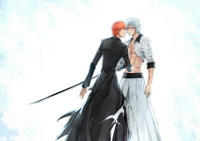 "097 Bleach - Dead Rukia Ichigo Fight Japan Anime 33""x24"" Poster"