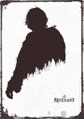 "111 Leonardo DiCaprio - The Revenant Handsome Actor Movie Star 24""x33"" Poster"