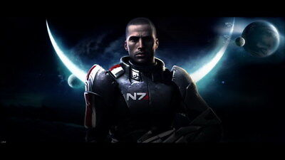 "117 Mass Effect 3 - ME Killer Fighting Shooting Hot TV Game 42""x24"" Poster"