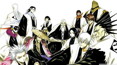 "101 Bleach - Dead Rukia Ichigo Fight Japan Anime 42""x24"" Poster"