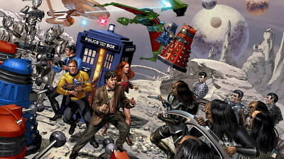 "117 Doctor Who - BBC Space Travel Season 8 Hot TV Show 42""x24"" Poster"