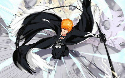 "223 Bleach - Dead Rukia Ichigo Fight Japan Anime 38""x24"" Poster"