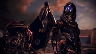 "188 Mass Effect 3 - ME Killer Fighting Shooting Hot TV Game 42""x24"" Poster"