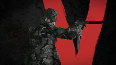"205 Metal Gear Solid - Snake Rising v the Phantom Pain Game 42""x24"" Poster"