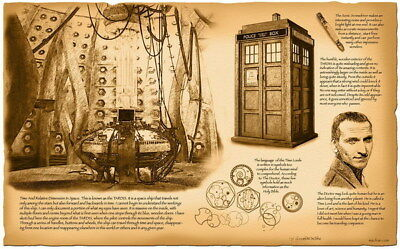 """235 Doctor Who - BBC Space Travel Season 8 Hot TV Show 38""""x24"""" Poster"""
