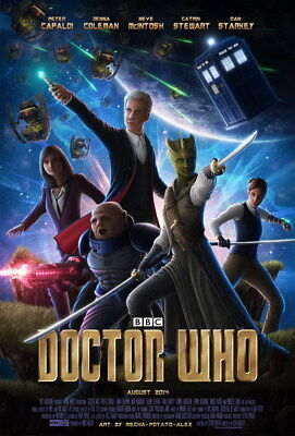 "233 Doctor Who - BBC Space Travel Season 8 Hot TV Show 24""x35"" Poster"