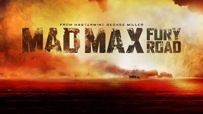 "124 Mad Max 4 Fury Road - Fight Shoot Car USA Movie 42""x24"" Poster"
