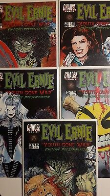 Evil Ernie * Youth Gone Wild Encore Presentation # 1 - 5  * Chaos  US