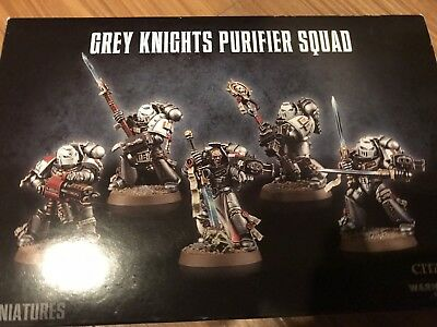 Warhammer 40k Grey Knights New Out Of Box