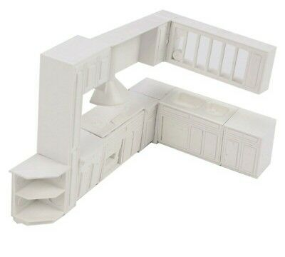 Doll house 16 piece kitchen furniture kit