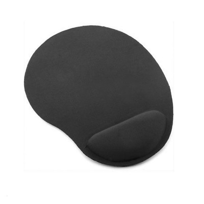 Black Foam Mouse Mat Pad RSI Wrist Support Rest Gaming Work PC Laptop Ergonomic