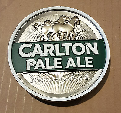 Carlton Pale Ale Metal Tap Badge