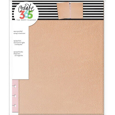 NEW Big Happy Planner Metallic Rose Gold Snap In Cover