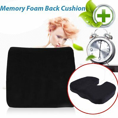 Memory Foam Coccyx Orthoped Car Seat Office Cushion Lumbar Pain Relief Pillow DS