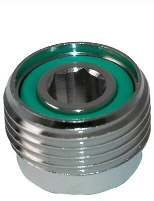 Scuba Diving  Cylinder Valve, INSERT / ADAPTER  to Convert Valve to A-Clamp
