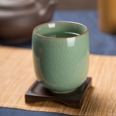 Chinese Longquan Celadon Teacup Japanese Office Ceramic Kungfu Tea Cup 160ml