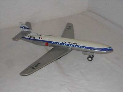 VINTAGE TINTOY -  AIR FRANCE CARAVELLE - von JOUSTRA - 43 cm MADE IN FRANCE - 23