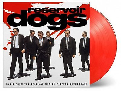 RESERVOIR DOGS ~ EXCLUSIVE NUMBERED LIMITED EDITION 180gsm RED VINYL LP ~ NEW