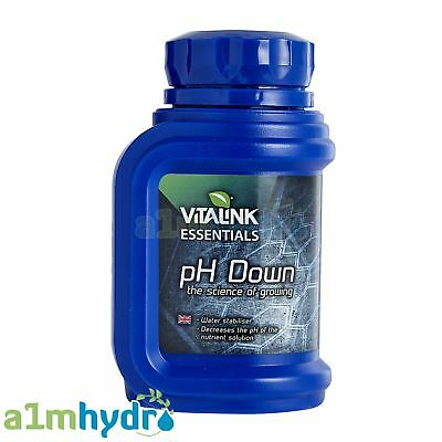 Essentials pH Down 250ml pH Control 81% Phosphoric Acid Hydroponics