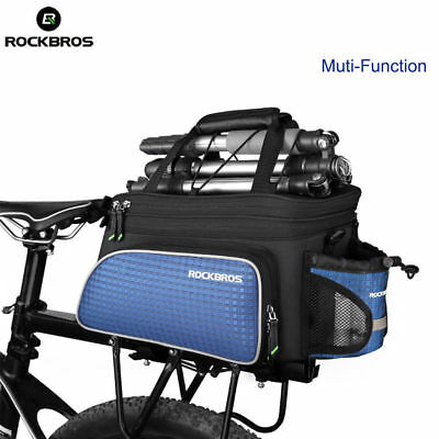 Item RockBros Bicycle Bike Cycling Bag Rear Carrier Bag Rear Pack Trunk Pannier