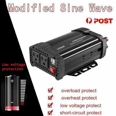 Peak Power 1500W DC 12V AC 110V Car Converter Power Inverter Electronic AB