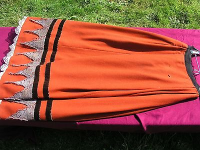 Original BBC TV Shakespeare Tudor costume long full wool skirt theatre LARP