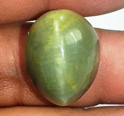 25.80 CT Cats Eye 100% Natural 19x15x13mm Awesome Quality Gemstone 961