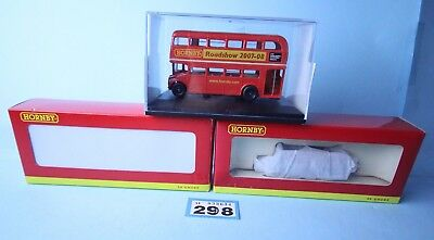Hornby 'oo' Gauge Lot Of Assorted Roadshow Wagons / Bus All Boxed #298