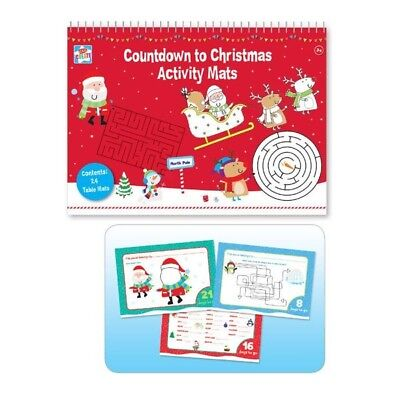 Countdown to Christmas Activity Mats A3
