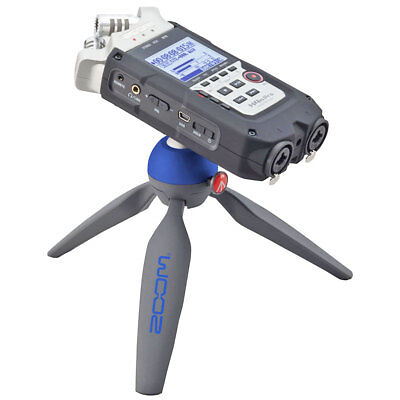 Zoom H4n Pro Recorder + Manfrotto Pixi Tipod Stativ