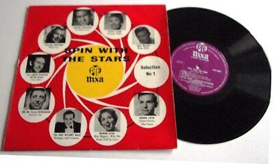 SPIN WITH THE STARS 10inch NIXA LP 1957 MARION RYAN,LONNIE DONEGAN & OTHERS
