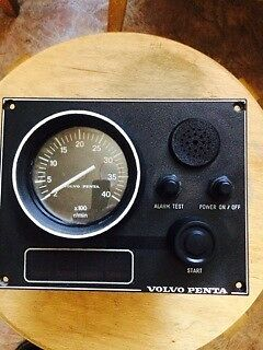 VOLVO-PENTA instrument panel  873593, 873594, 3587077  12V