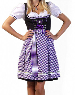 Authentic 3 pc German Dirndl dress bavarian dirndl Oktoberfest costume