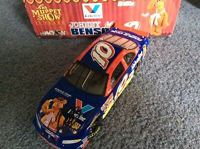 Johnny Benson Signed 1-24 diecast Muppets